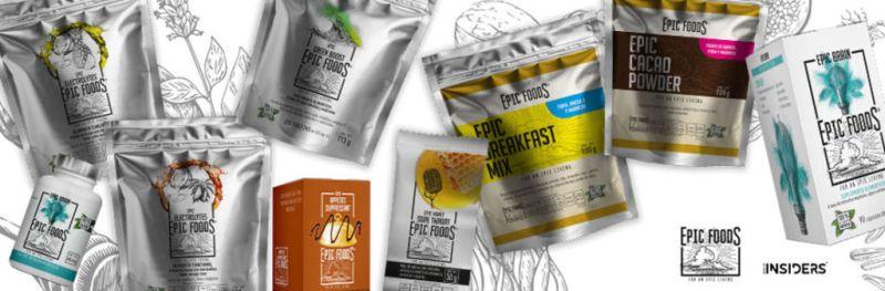 Llega a México línea de súper alimentos funcionales 100% naturales - epic-foods-for-an-epic-living-800x263