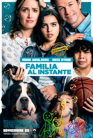 """La película """"Familia al instante"""" se estrena el 30 de Noviembre"""