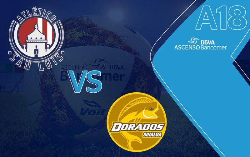 Dorados vs San Luis, Final del Ascenso MX A2018 ¡En vivo por internet! - final-dorados-vs-san-luis-ascenso-mx-2018
