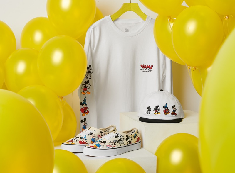 Vans celebra los 90 aniversario de Mickey Mouse: The True Original - ho18_mickey_birthday_collection_lineup_elevated-800x590