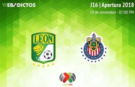 León vs Chivas, J16 del Apertura 2018 ¡En vivo por internet!