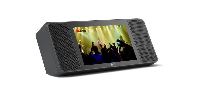 Nueva LG XBOOM AI ThinQ, bocina con pantalla AI y Google assistant - lg-xboom-ai-thinq-wk9-02-800x364