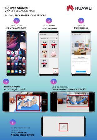 3D Live Maker, la app para escanear y animar objetos ¡Ya está disponible! - manual-huawei-3d-live-maker-003