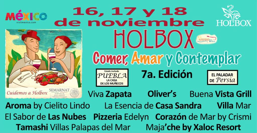 """Vive la esencia de la gastronomía de Holbox en la muestra Gastronómica """"Comer, Amar y Contemplar"""" - muestra-gastronomica-2018"""