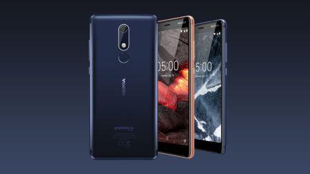 Ofertas en smartphones Nokia en el Buen Fin 2018 - nokia-5-1-450x253