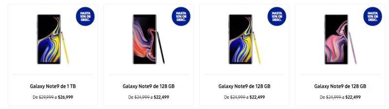 Ofertas de Samsung en el Buen fin 2018 ¡hasta 50% de descuento! - smartphone-samsung-buen-fin-800x225