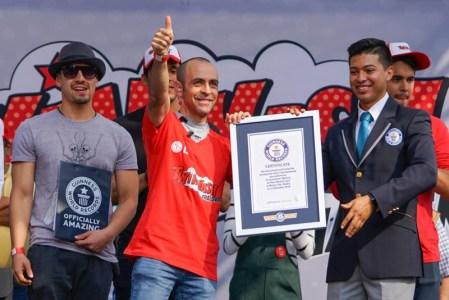 LG rompe el Guinness World Records en la CDMX ¡conoce más acerca del TWINWash Challenge!