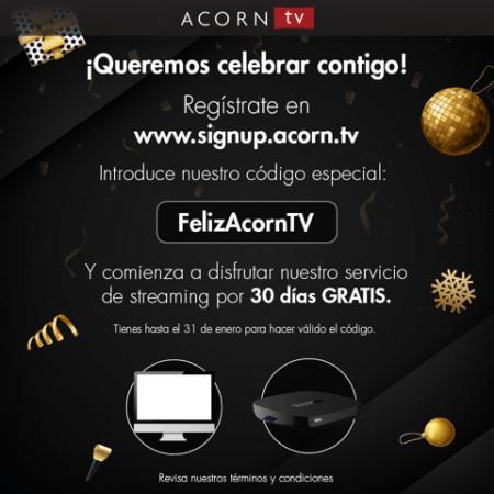 Acorn TV, ¡totalmente GRATIS durante 30 días!