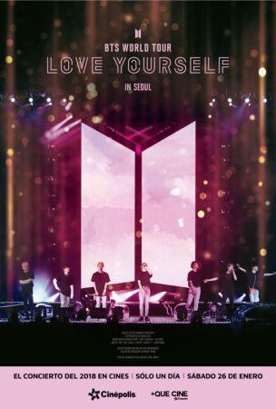 El concierto de BTS de su gira más esperada 2018 llega en exclusiva a Cinépolis