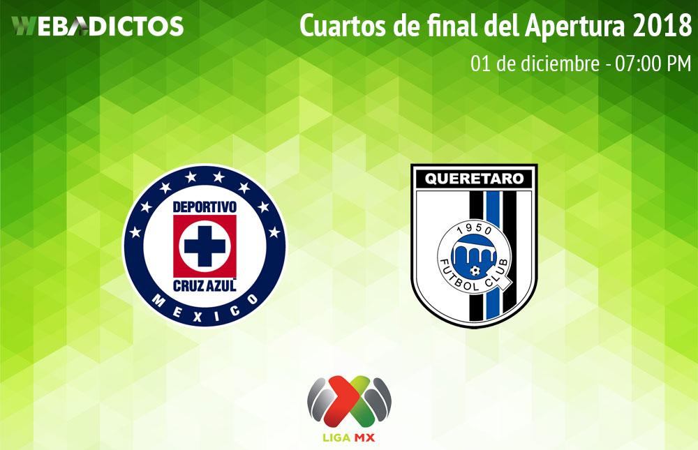 Cruz Azul vs Querétaro, Liguilla del AP2018 ¡En vivo por internet! | vuelta - cruz-azul-vs-queretaro-liguilla-a2018