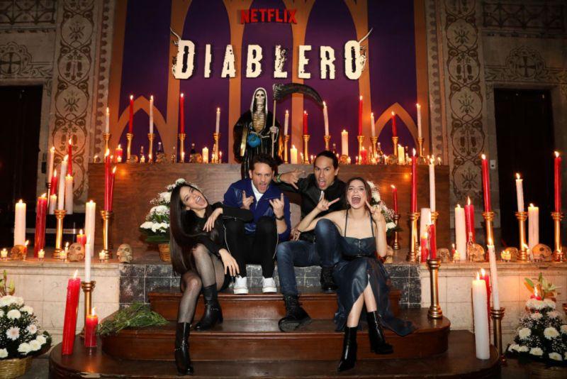 Los protagonista de Diablero se apoderan de las calles de la Cuidad de México - diablero_netflix-800x534
