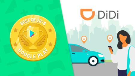 La app DiDi es premiada por Google Play como mejor app en los Google Play Best 2018