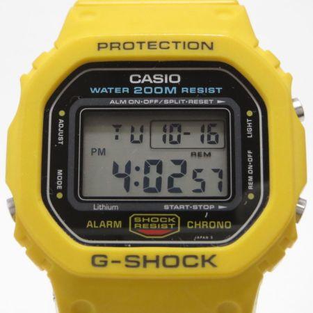 G-SHOCK: Las mil caras de un ícono - dw-5600c-9b-gshock-primer-modelo-de-color-amarillo-450x450