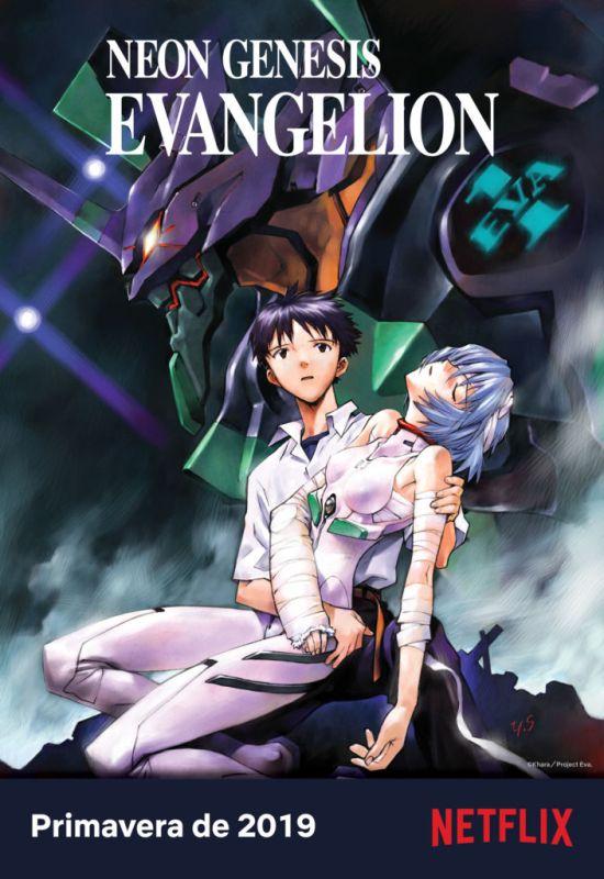 Los contenidos destacados Anime 2019 en Netflix - evangelion-550x800
