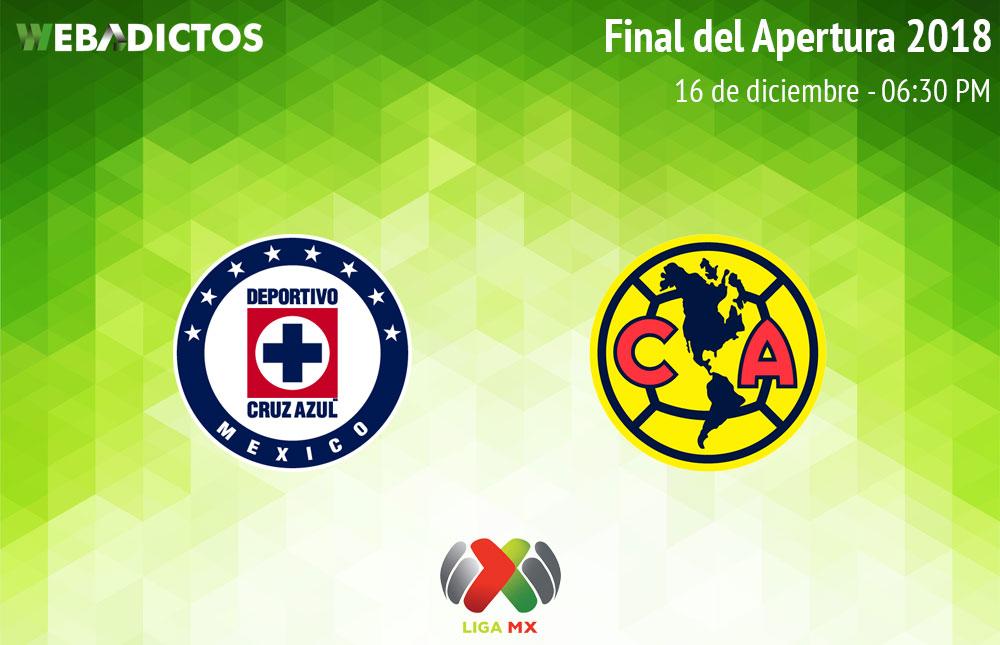 Cruz Azul vs América, Final Liga MX A2018 ¡En vivo por internet! | Vuelta - final-cruz-azul-vs-america-apertura-2018