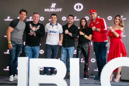 Hublot presento el nuevo Big Bang unico Squadra Corse edición limitada