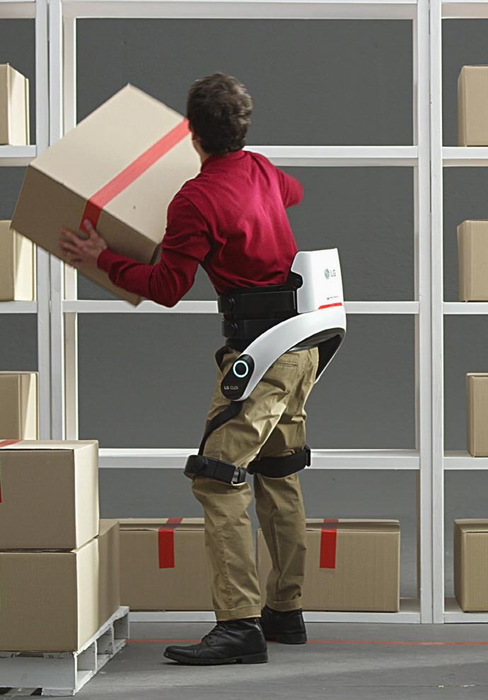 👍 LG presentará en el CES las nuevas versiones del exoesqueleto para trabajos físicos
