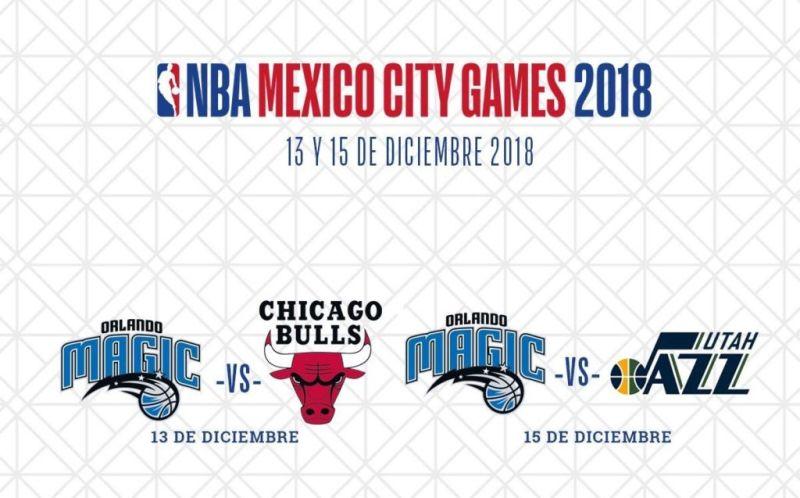 Orlando vs Toros de Chicago, NBA México 2018 ¡En vivo por internet!