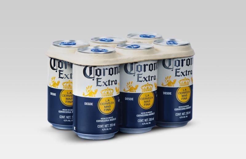 Corona lanza programa piloto de su empaque de anillos desix pack libres de plástico - six-pack-libres-de-plastico_1-800x516