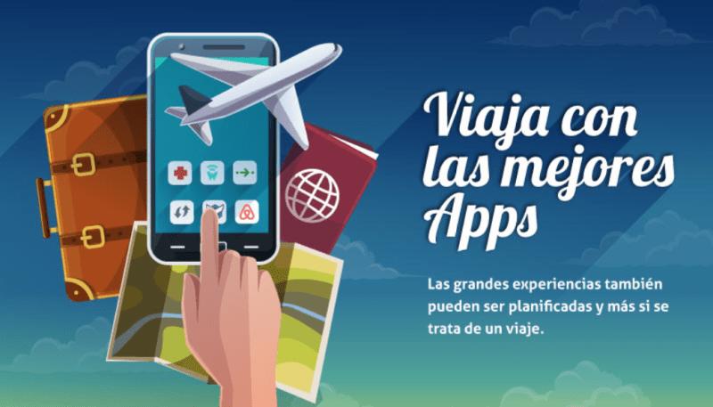 [infografía] Las mejores apps para viajar - apps-para-viajar-800x457