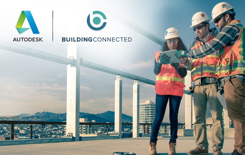 Autodesk completa la adquisición de BuildingConnected - autodesk-buildingconnected-800x506