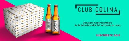 «Club Colima», cervezas experimentales, de temporada o edición limitada a la puerta de tu casa