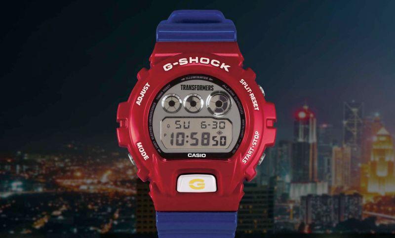 G-SHOCK en colaboración con TRANSFORMERS presenta un modelo épico del icónico Optimus Prime - g-shock-x-transformers_1