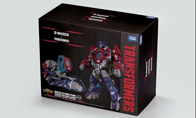 G-SHOCK en colaboración con TRANSFORMERS presenta un modelo épico del icónico Optimus Prime - g-shock-x-transformers_2