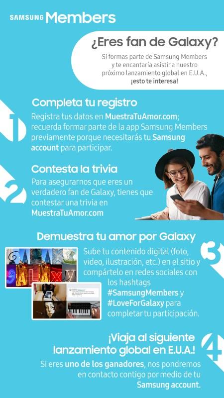 ¿Eyes fan de Galaxy? Samsung México invita a sus fans al Galaxy Unpacked 2019 - galaxy-unpacked