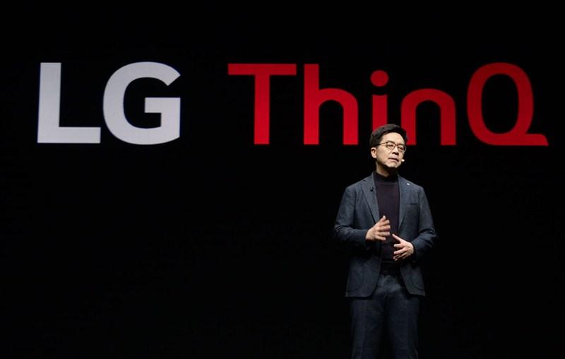 El presidente de LG comparte su visión futurista de la compañía durante el CES 2019 - keynote-i-p-park-02