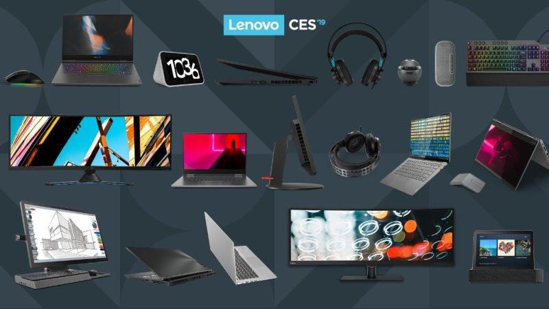 Las novedades que presentó Lenovo en el CES 2019 - lenovo-ces-2019