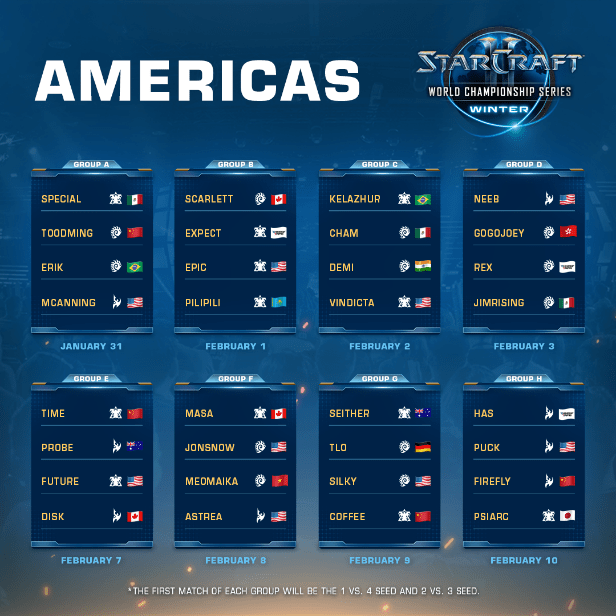 Por primera vez, 5 jugadores latinoamericanos competirán en StarCraft II WCS Winter - starcraft-ii-wcs-winter_1