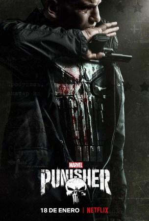 Netflix revela tráiler oficial de la segunda Temporada de Marvel The Punisher