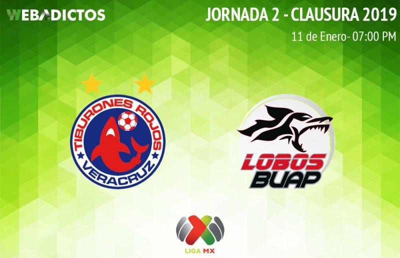 Veracruz vs Lobos BUAP, J2 del Clausura 2019 ¡En vivo por internet! - veracruz-vs-lobos-buap-clausura-2019