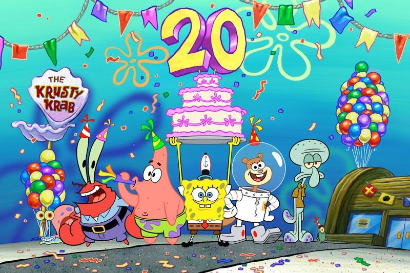 Nickelodeon conmemora 20 años de Bob Esponja - 20th_bob-esponja