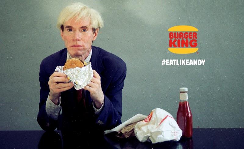 Burger King trae de vuelta a Andy Warhol en un comercial para el Super Bowl LIII - burger-king-andy-warhol