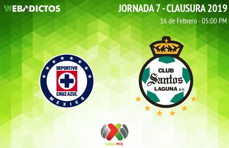 Cruz Azul vs Santos, Jornada 7 C2019 ¡En vivo por internet! - cruz-azul-vs-santos-clausura-2019