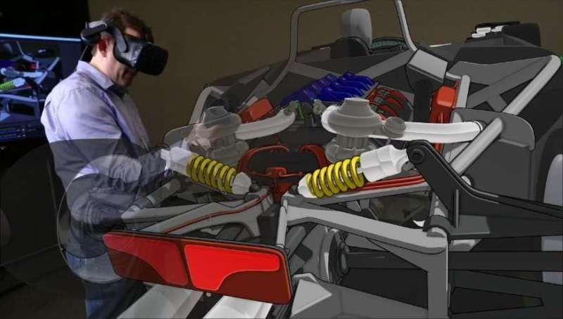 Ford explorar nueva herramienta de realidad virtual 3D para crear diseños de vehículos en menor tiempo - ford