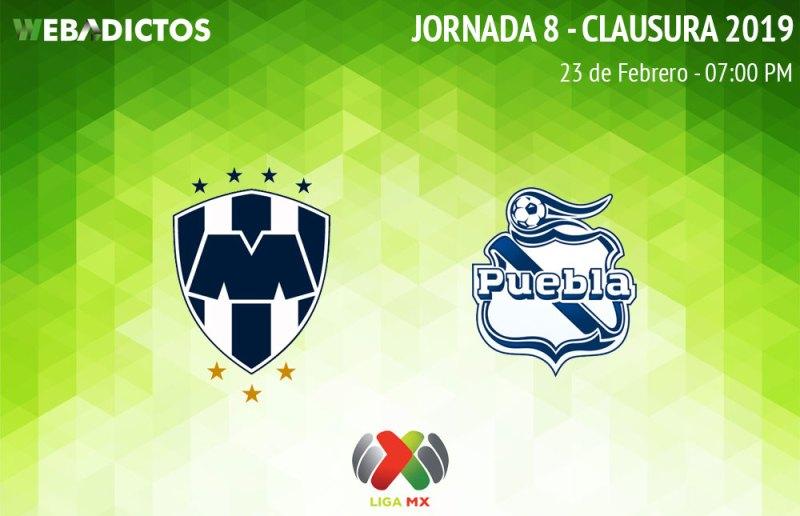 Monterrey vs Puebla: Cómo ver en vivo en la J8 del Clausura 2019 - monterrey-vs-puebla-clausura-2019