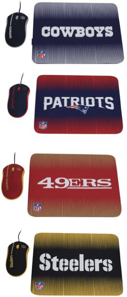 [TRIVIA para fanáticos de la NFL] Participa y ¡Gana un kit de mouse y pad de Ginga - mouse-pad-ginga