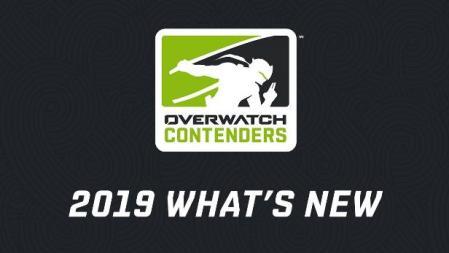 Lo nuevo en Overwatch Contenders en 2019