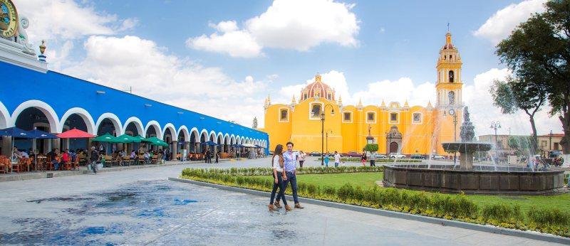 Amazon anuncia ranking de las Ciudades más románticas de México - san-pedro-cholula-800x346