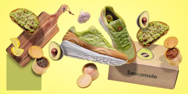 Saucony lanza una de sus icónicas siluetas inspirados en el Guacamole - saucony-suacamole