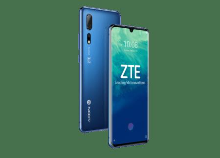 WMC 2019: ZTE presenta su primer smartphone 5G: ZTE Axon 10 Pro 5G