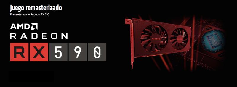 AMD Radeon RX 590, diseñada para jugadores que necesitan una tarjeta gráfica de 1080p potente y asequible - amd-radeon-rx-590