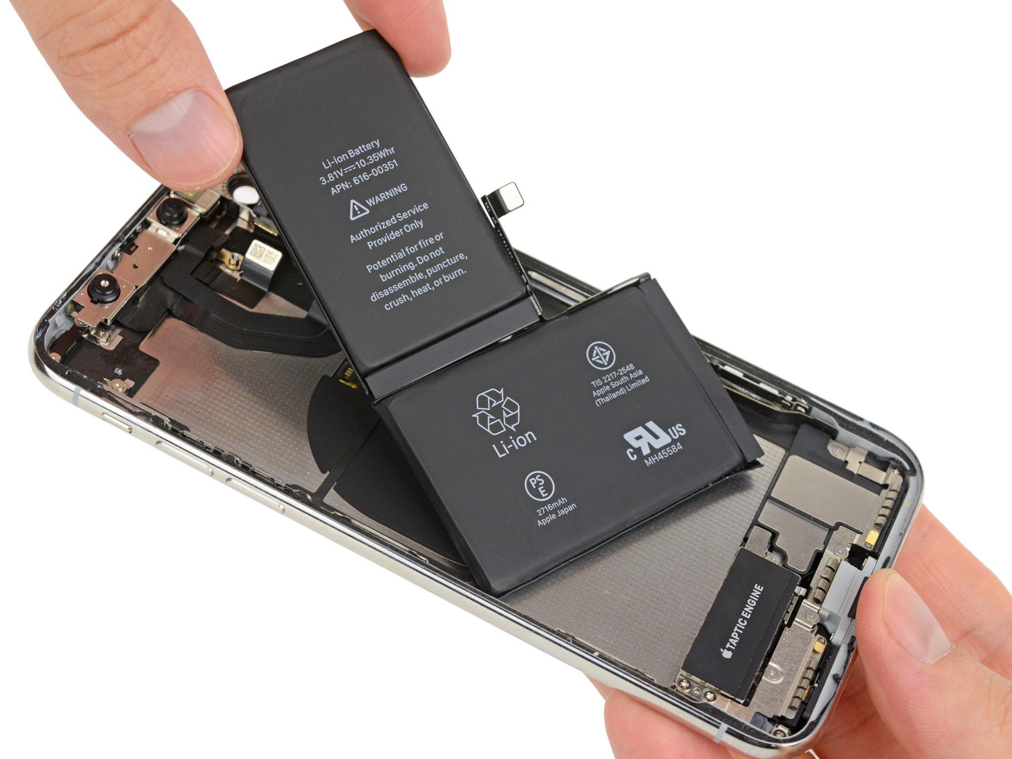 Apple servirá el iPhone con baterías no originales