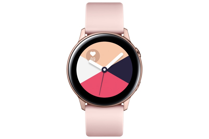 Samsung presenta Galaxy Watch Active y Galaxy Buds en México - galaxy-watch-active_rose-gold