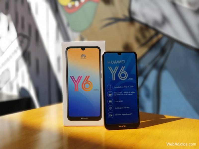 Nuevo Huawei Y6 2019 ¡conoce sus características y precio! - huawei-smartphone-y6-2019