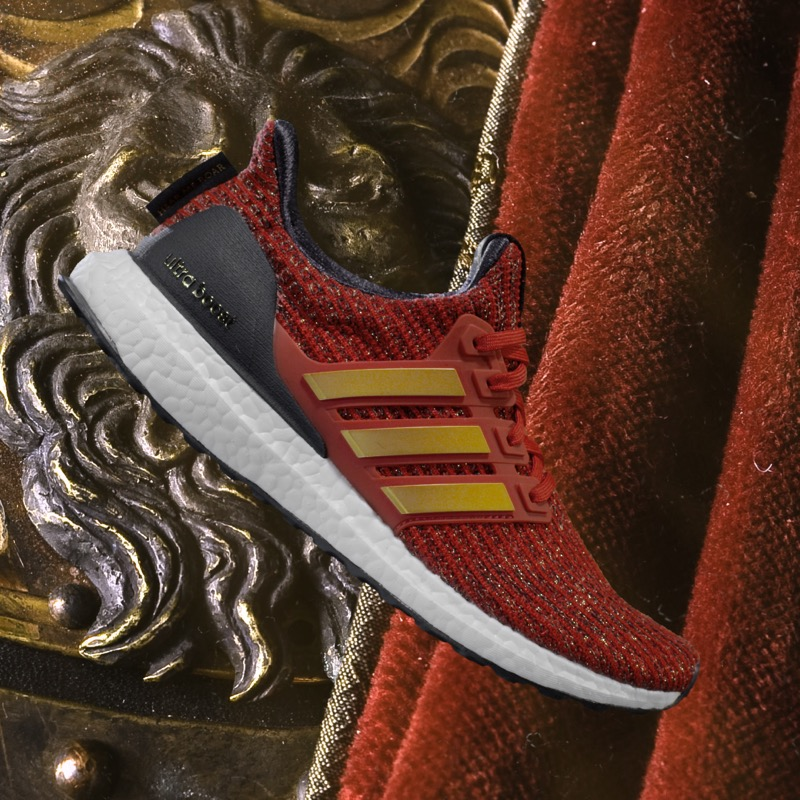 adidas Running presenta su colaboración con Game Of Thrones de edición limitada - lannister_ultraboost-de-adidas-x-game-of-thrones