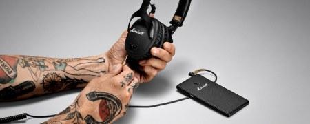 Nuevos audífonos Marshall Monitor Bluetooth, diseñados para profesionales del audio